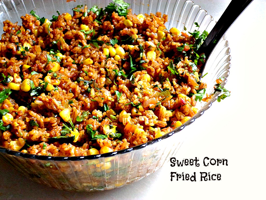 Sweet corn fried rice kaluhis kitchen the entire dish took me an hour inclusive of the preparation of the ingredients isnt that fantastic ccuart Choice Image