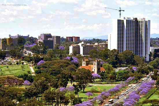 Nairobi in october