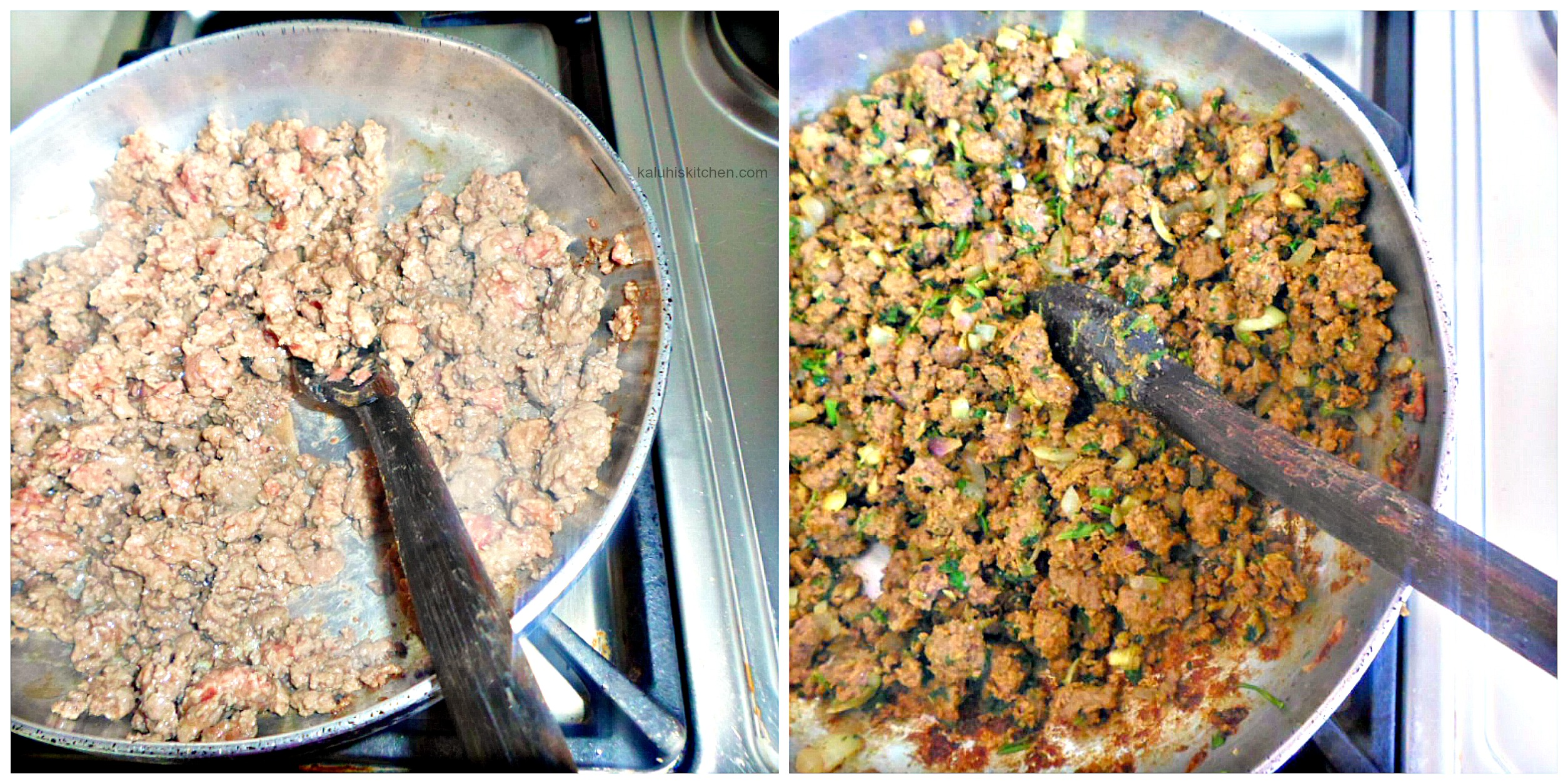 minced beef stuffing for samosas