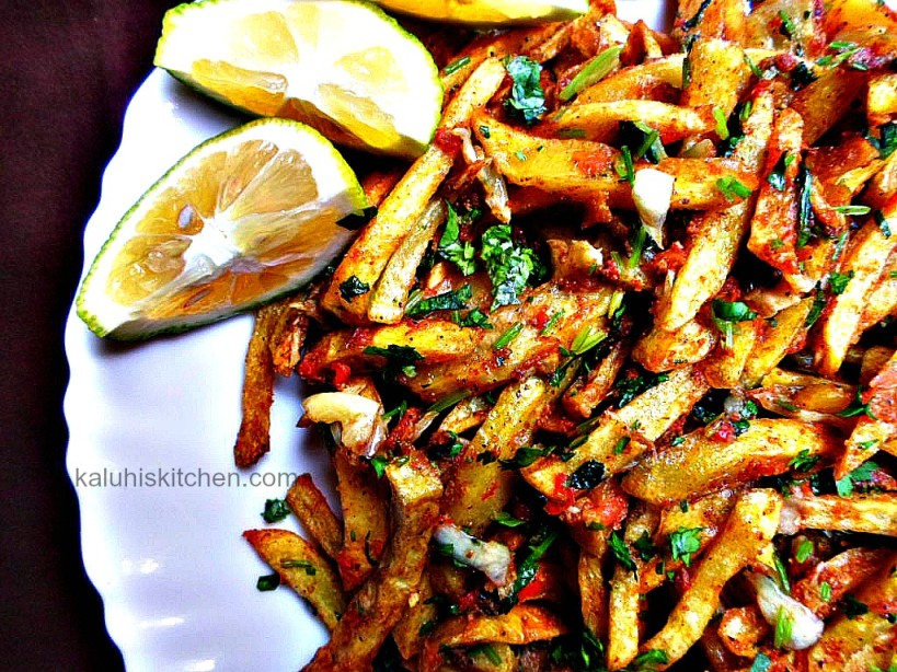 Kenyan Food_Masala chips_GARLIC MASALA FRIES_kenyan food bloggers