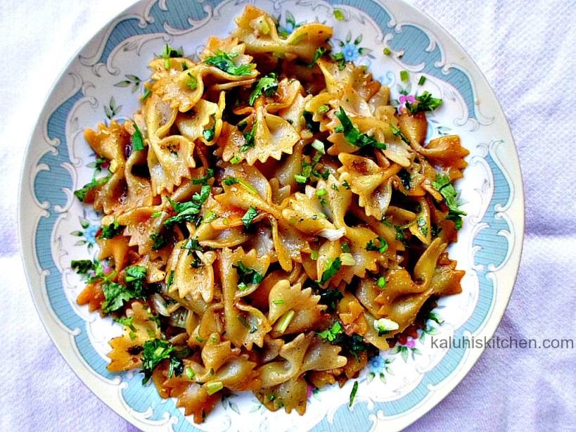 farfalle pasta_beautiful food_kenyan food bloggers_pasta recipes