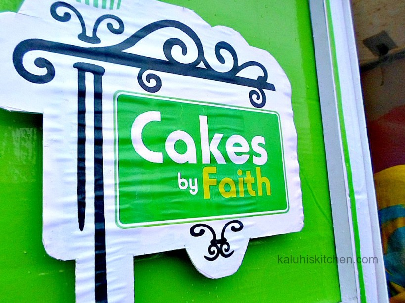 Cakes by Faith owned by Faith Wanjiru_Cake festival 2015