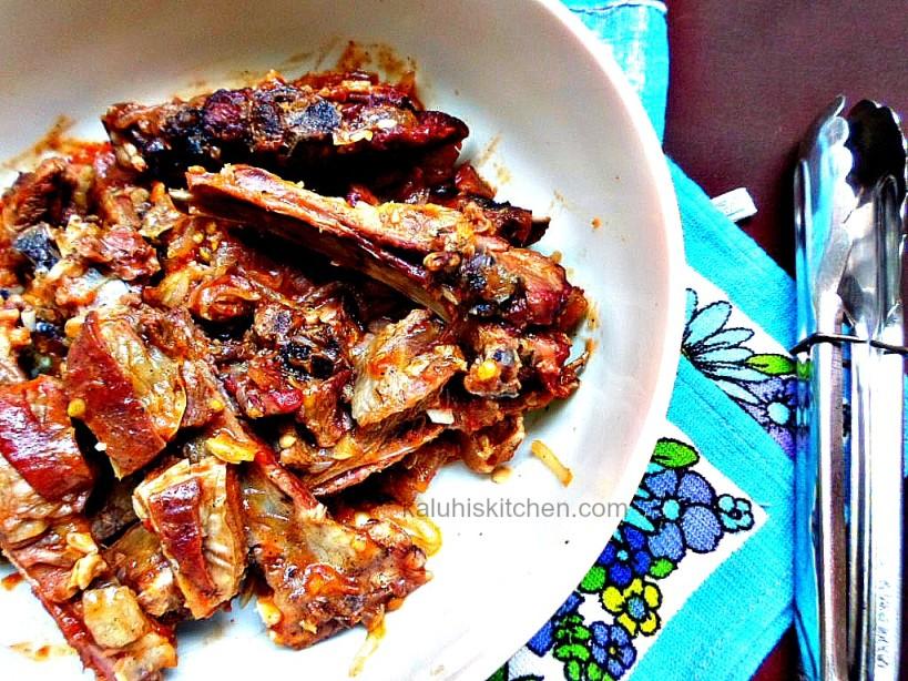 Kenyan food_Nyamachoma_Open flame roasted meat