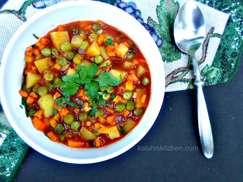 Kenyan food_peotatao stew is very common in Kenya since its easy to make and very nutritious