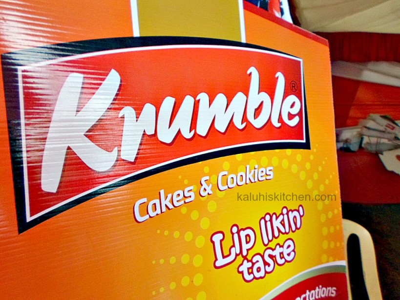 Krumble cakes and cookies as one of the participants in Nairobis Cake festival 2015