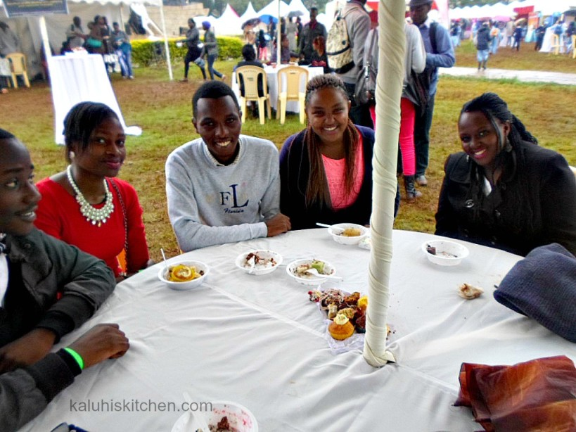 attendees of the KENYAN CAKE FESTIVAL 2015