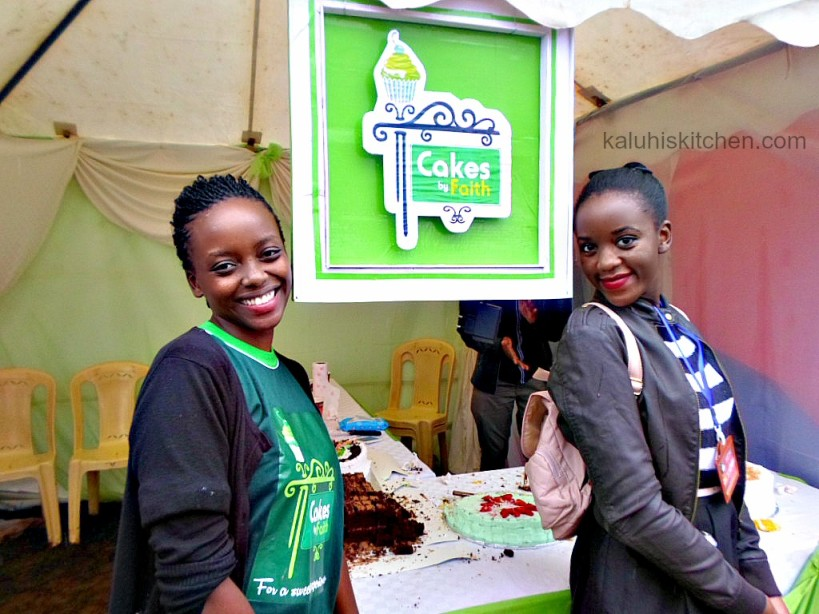 baker and entrepreneur faith wanjiru founder of Cakes by Faith together with Kenyan Food blogger Kaluhi Adagala