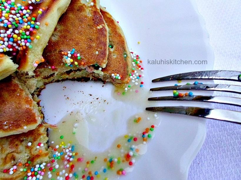 best funfetti pancake recipe_funfetti pancke with orange zest_Kaluhis Kitchen top kenyan food blog