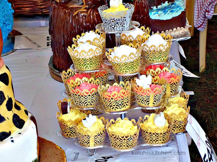 some of the cakes exhibited at the annual cake festival in NAIROBI FORM AN UNNAMED STAND