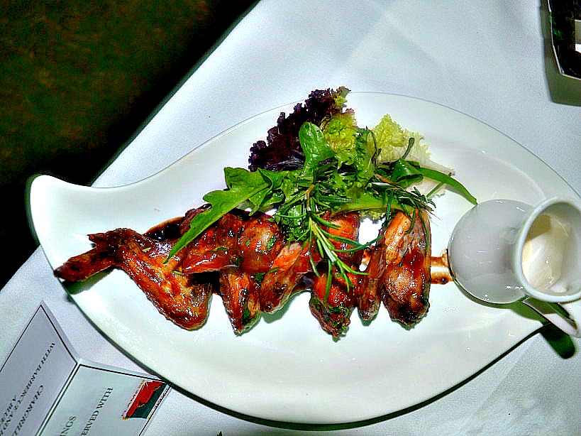 Flame Tree Restaurant NAIROBI_CHAR GRILLED CHICKEN WINGS