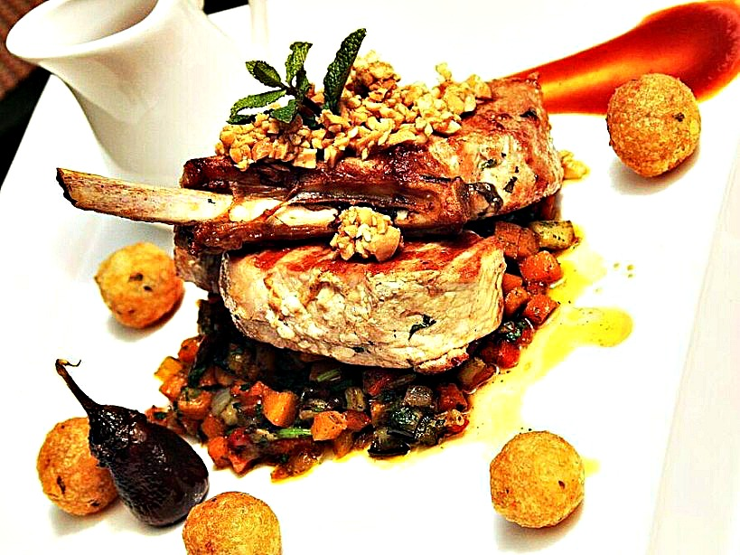 Limuru-Pork-chops-with roasted cumin and pepper_Flame tree restaurant Panafric nairobi_kaluhiskitchen.com