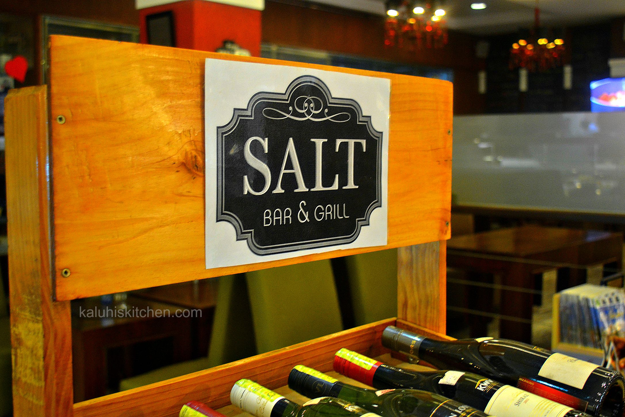 salt bar and grill and the junction offers world class selection of wines