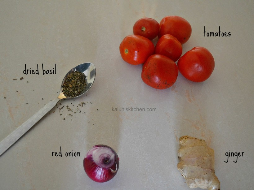 tomato soup ingredients by kaluhi adagala of KALUHISKITCHEN.COM_KENYAN FOOD BLOGGER