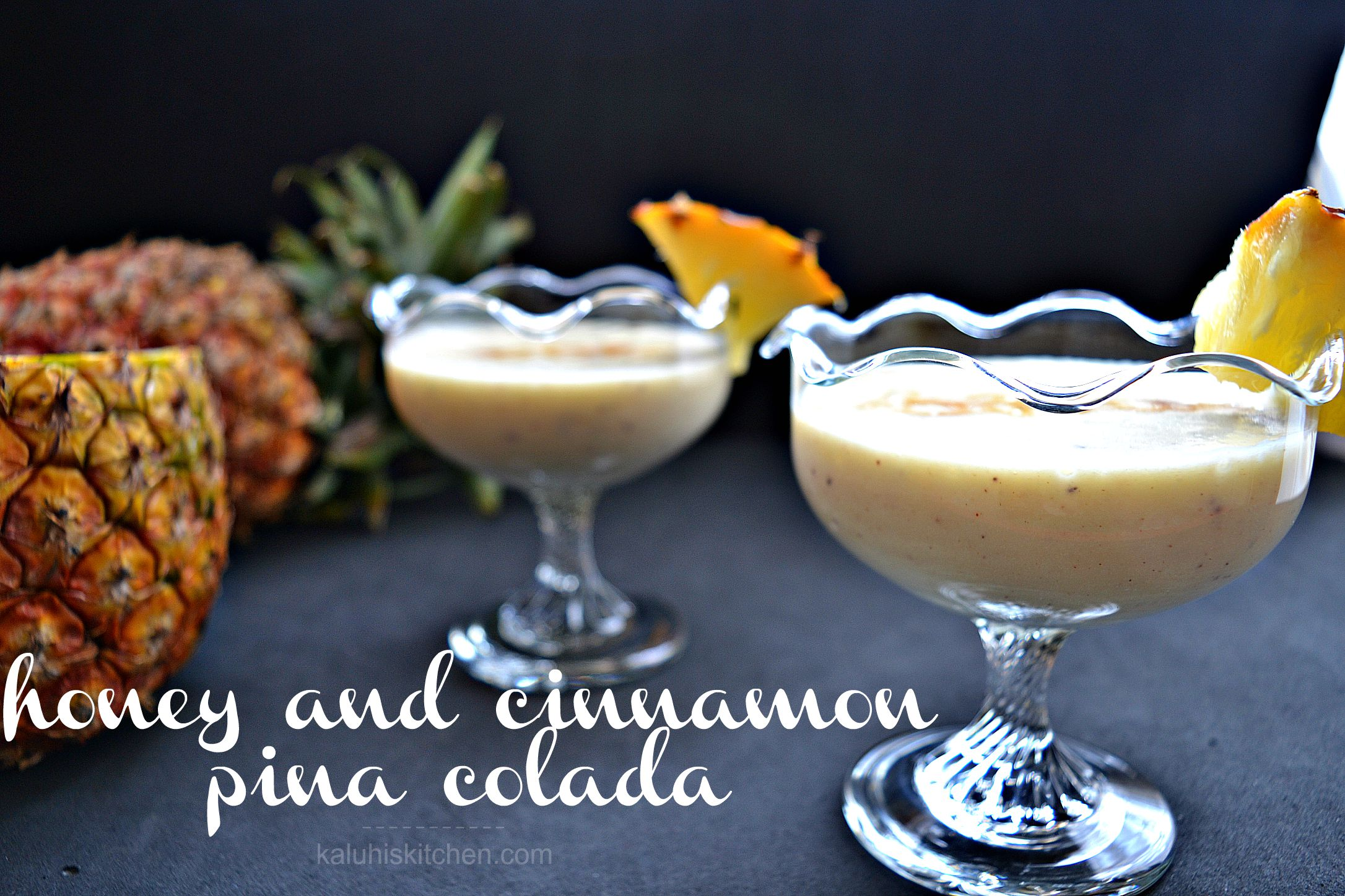 honey and cinnamon pina colada by kaluhi adagala of kenyan food blog kaluhiskitchen.com_how to make pina colada_kaluhiskitchen.com