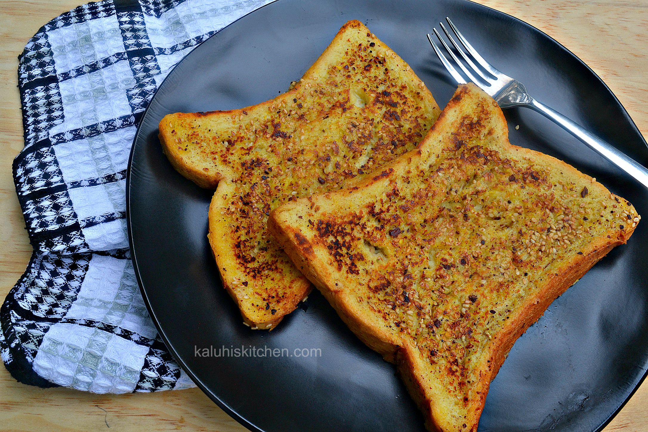 kenyan food blog kaluhiskitchen.com_tangerine and sesame seed french toast_how to make french toast