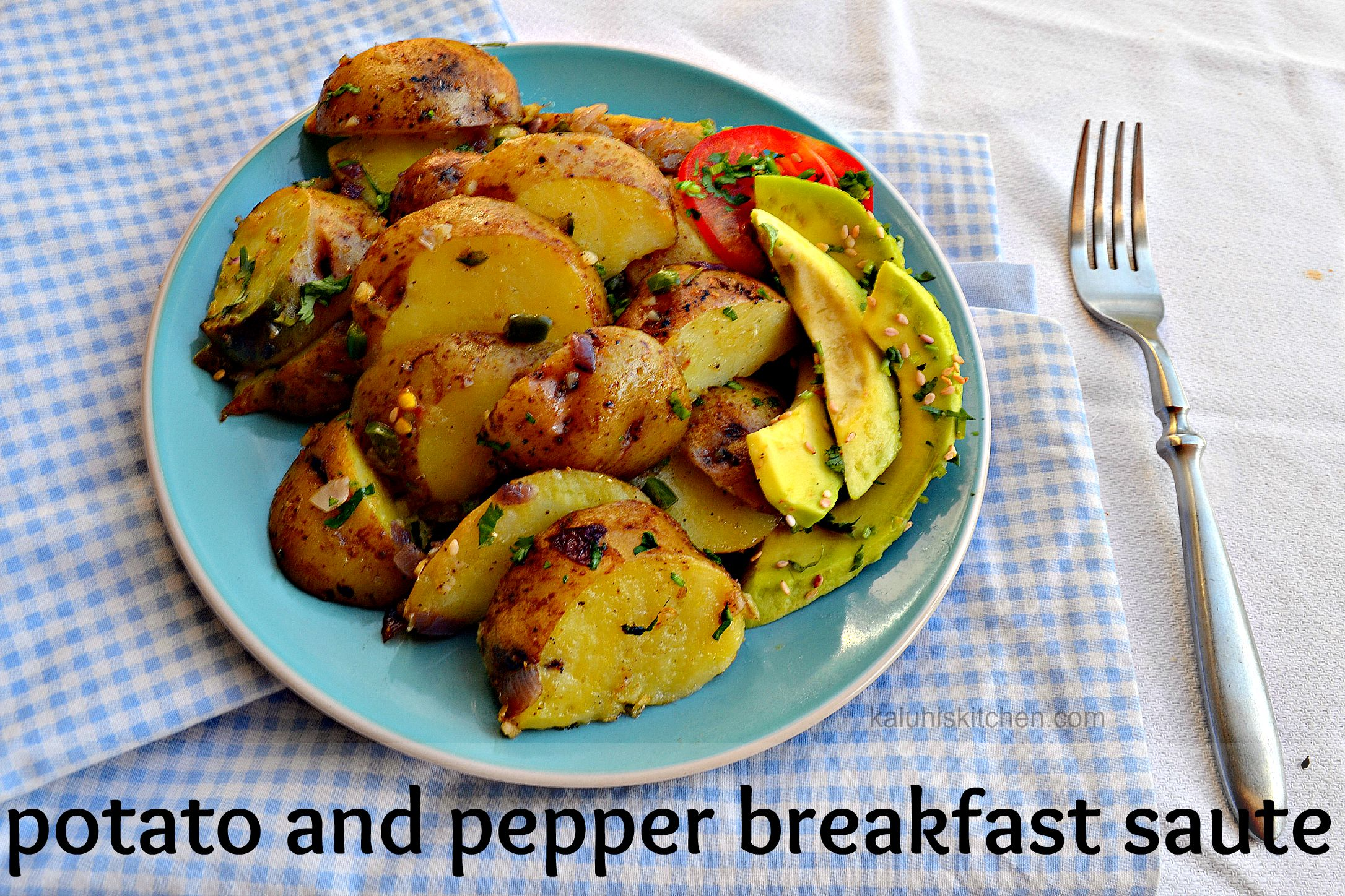 potato and pepper breakfast saute by kaluhi adagala of kaluhiskitchen.com_breakfast recipes_best kenyan food blog