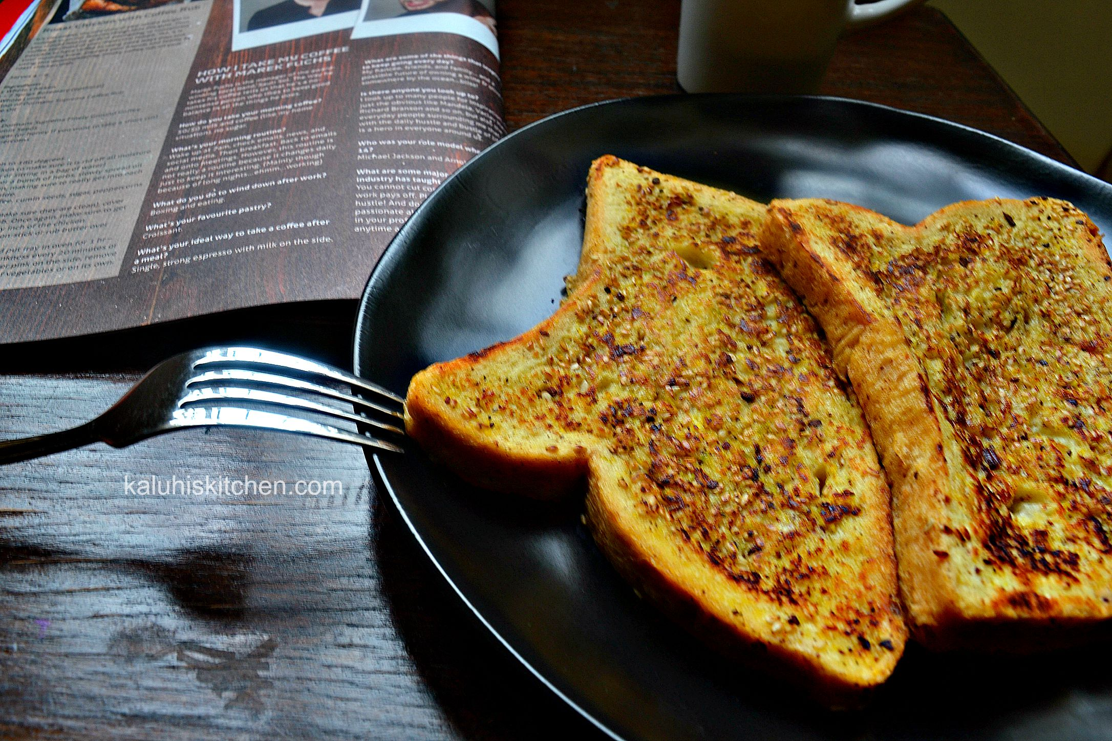 soft french toast with a unique twist by kaluhi adagala, top kenyan food blogger_kaluhiskitchen.com