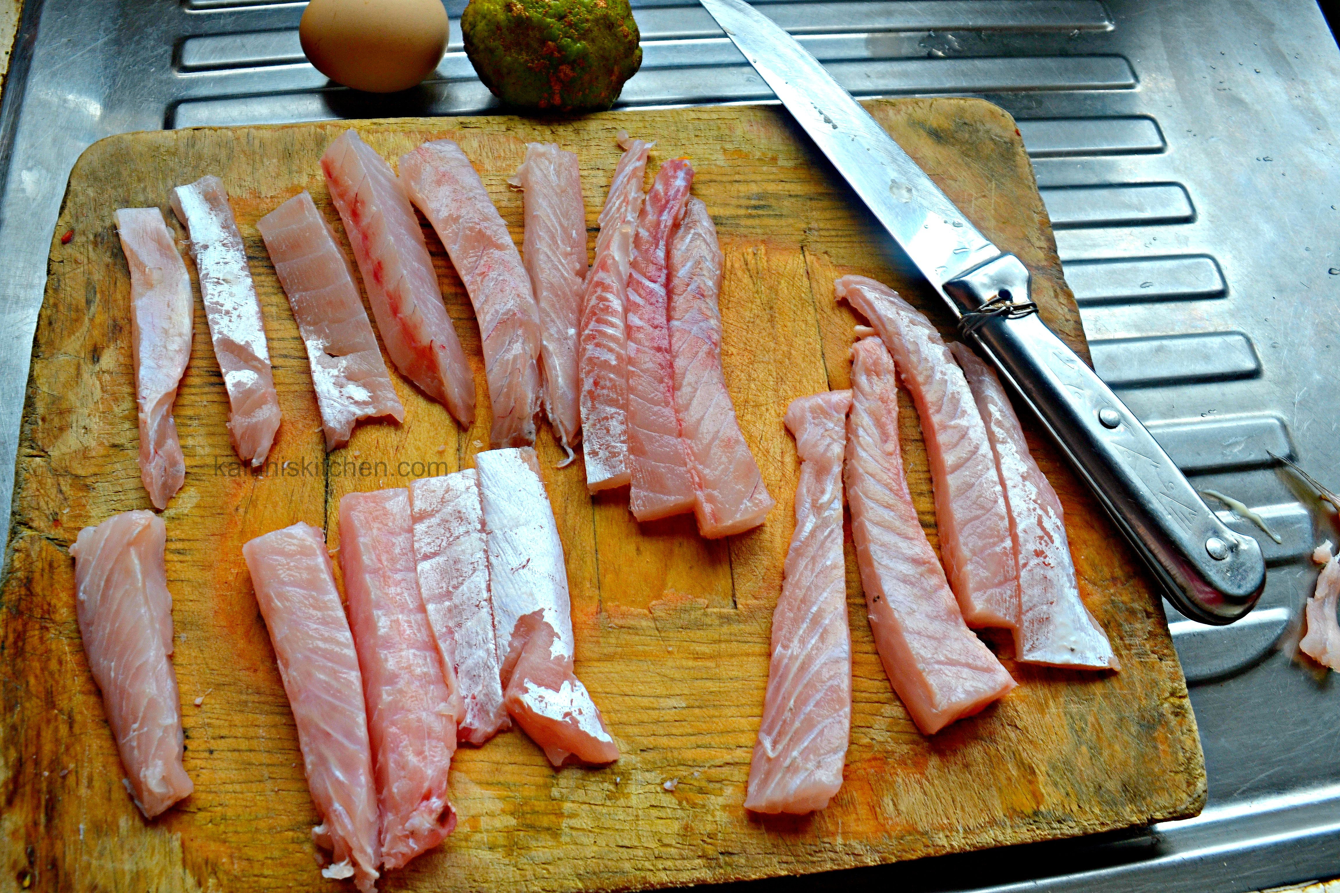 while cutting your fish fingers, make them slightly thicker si that they do not become too crispy_fresh fish from nairobi city mrket_kaluhiskitchen.com