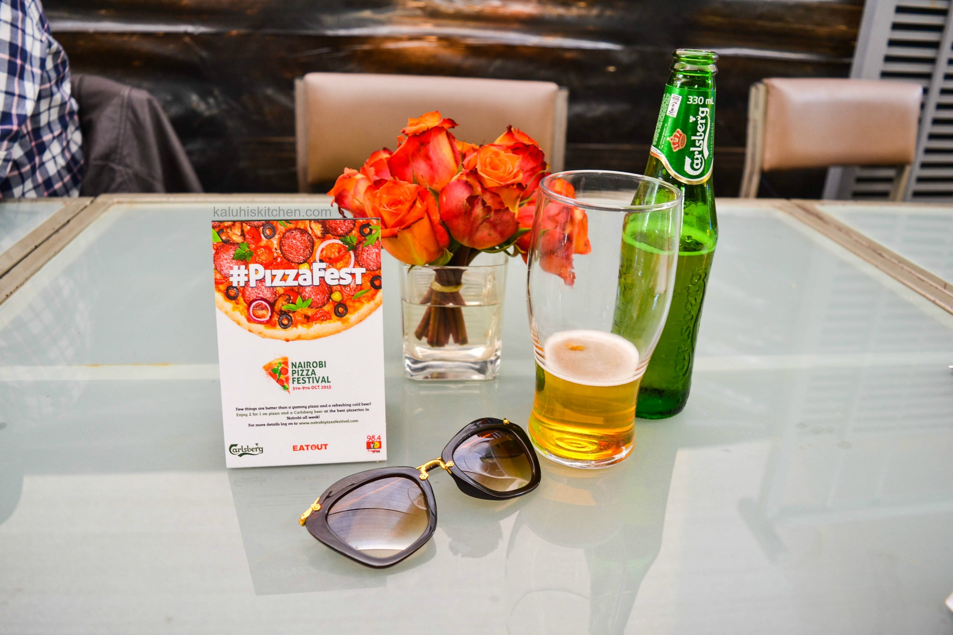 nairobi pizza festival 2015_kaluhiskitchen.com_carlsberg beer
