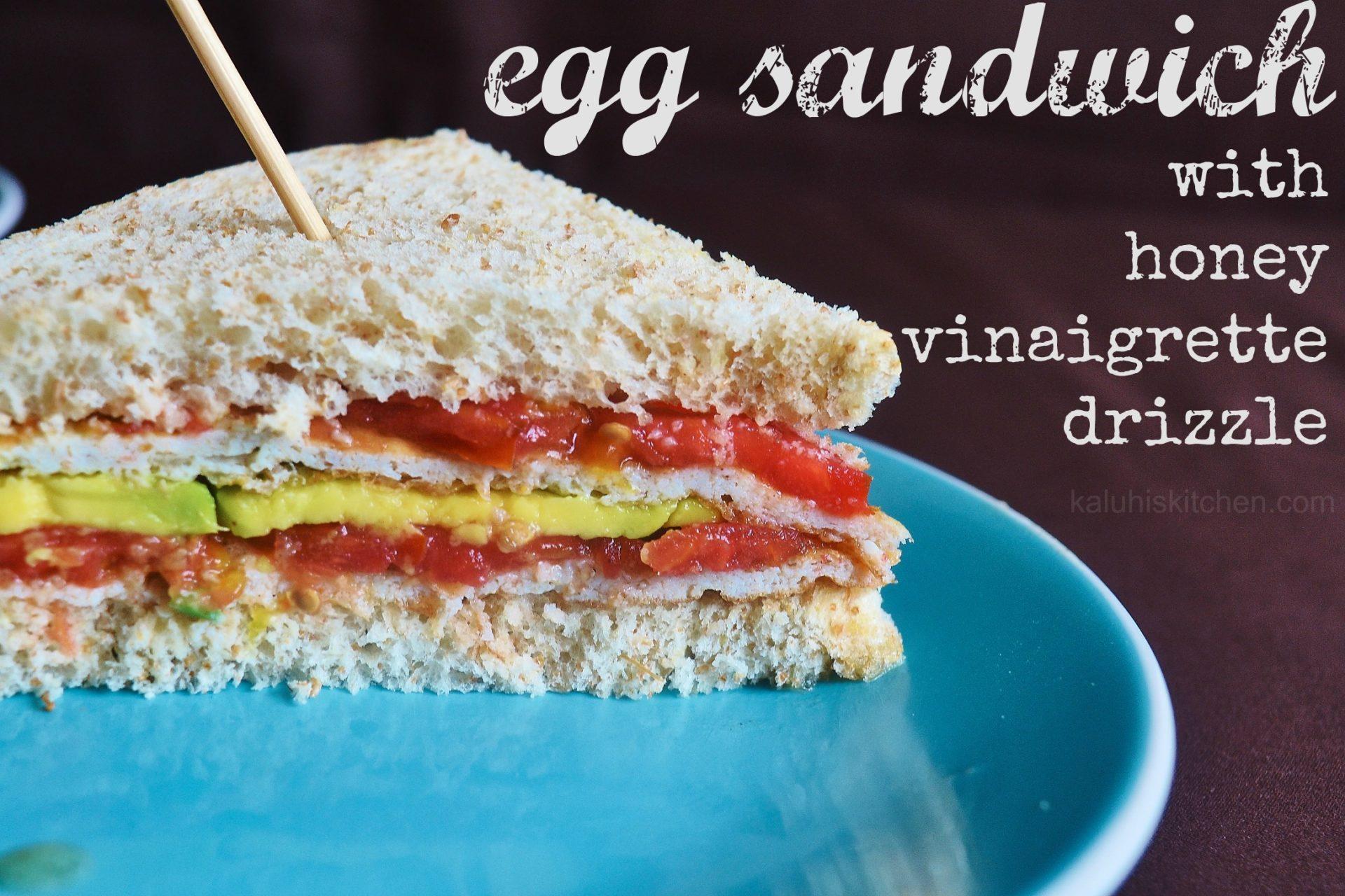 egg sandwich with honey vinaigrette_best kenyan food bloggers_top Nairobi food bloggers_how to make egg sandwich