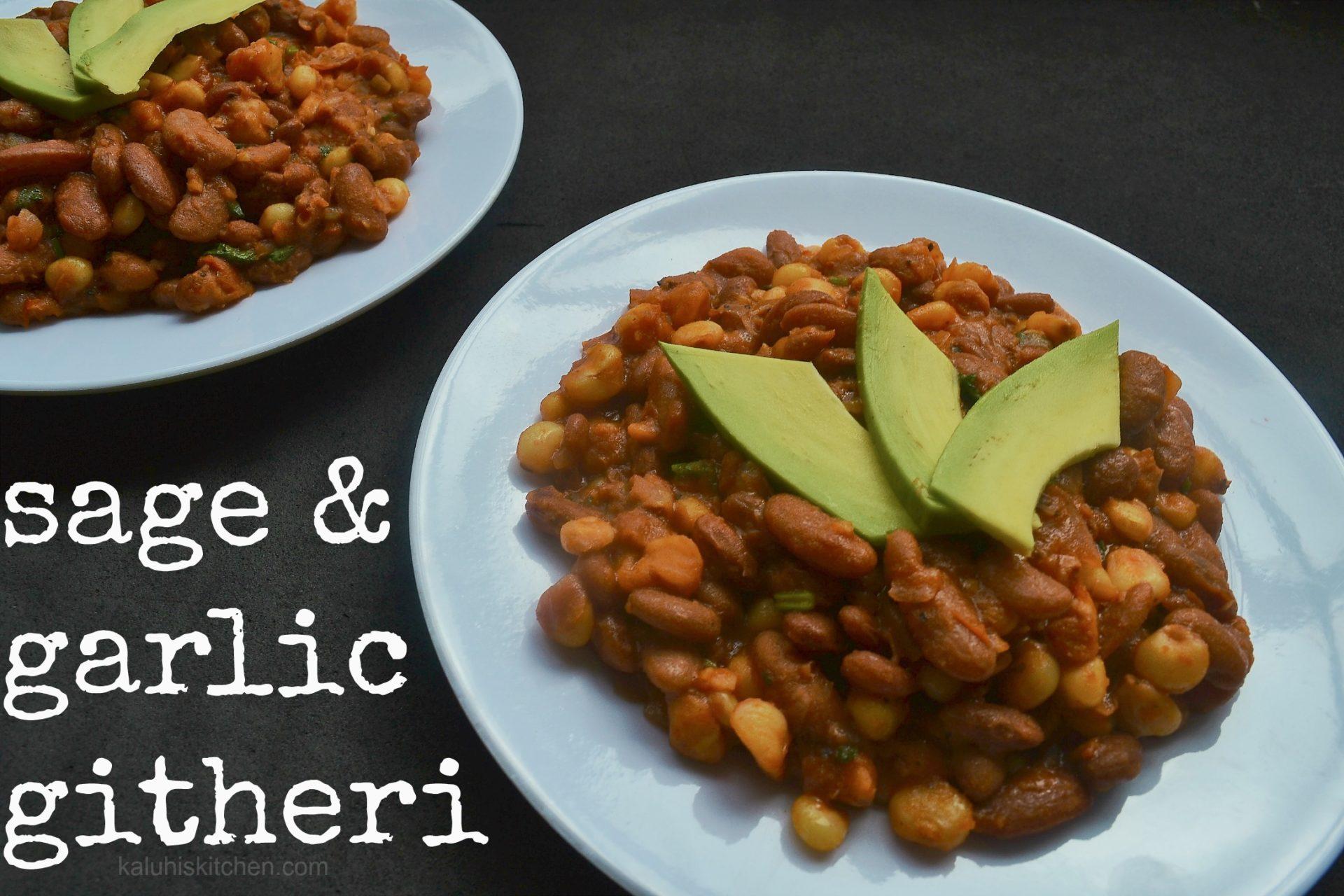githeri_sage and garlic githeri_kenyan food_kenyan cuisine_kaluhiskitchen.com