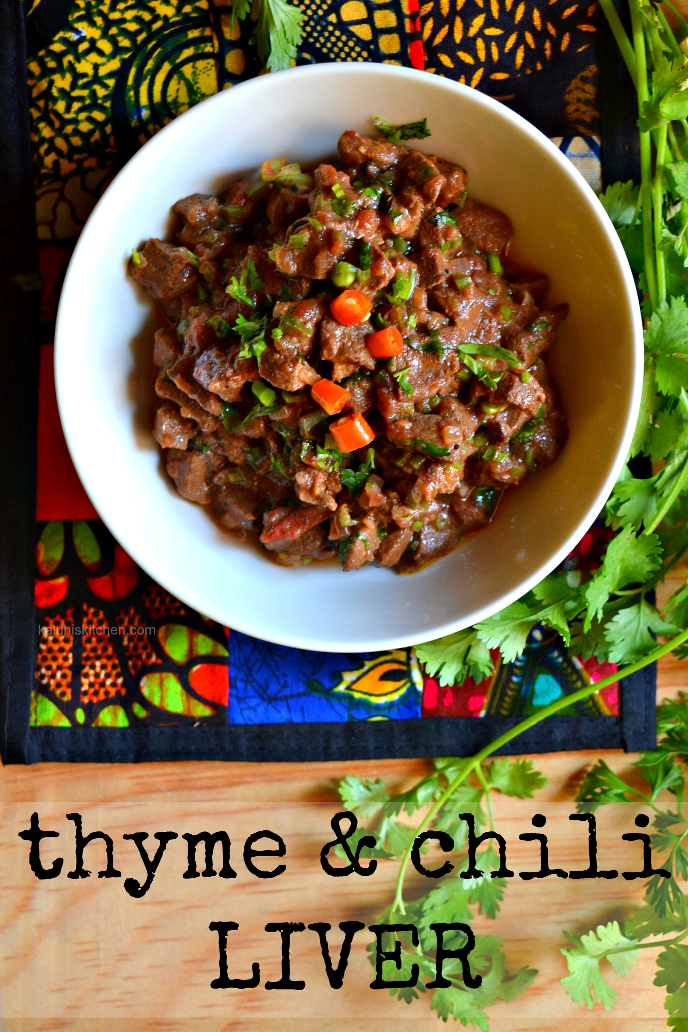 thyme and chili liver_kenyan food bloggers_kenyan food recipes_organ meats_alternatives to red meat_kaluhiskitchen.com_best kenyan food blog by Kaluhi Adagala