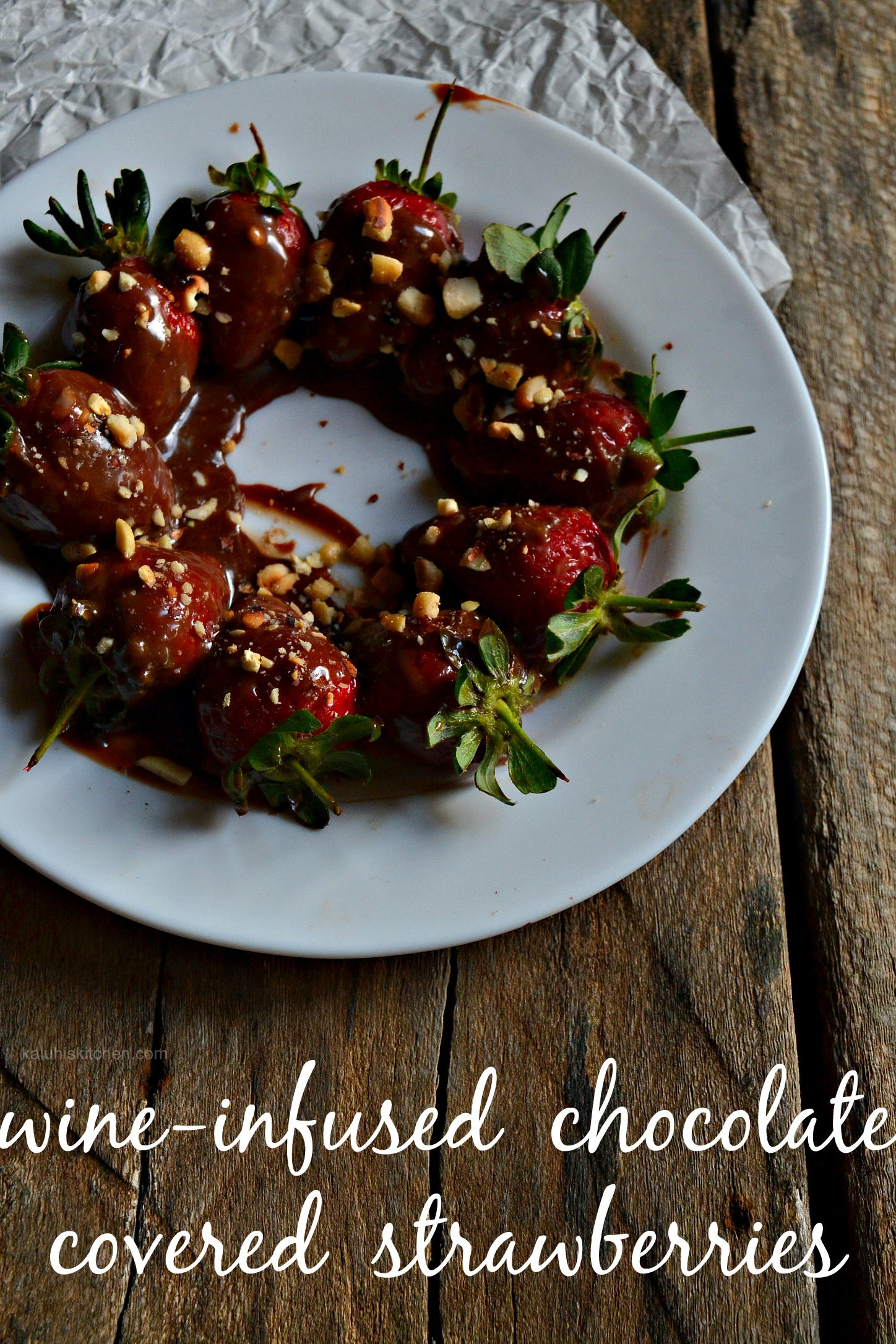 wine infused chocolate covered strawberries_kaluhiskitchen.com_easy dessert_indulgent desssert