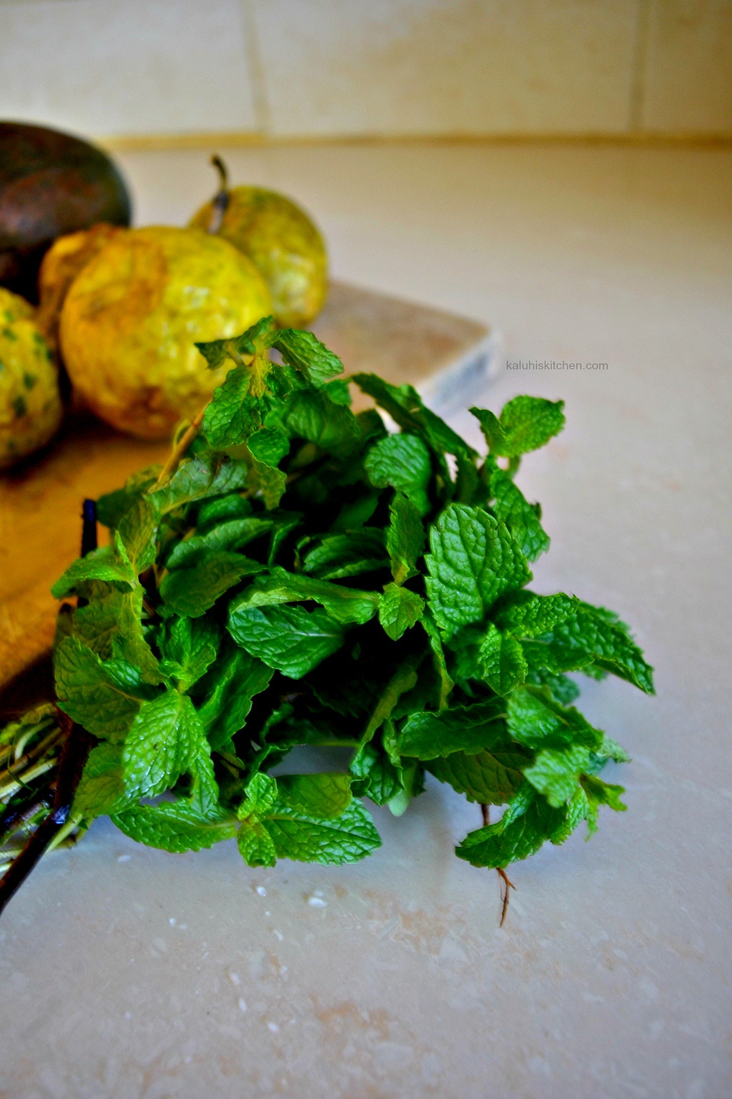 mint can be bought in all supermarkets in Kenyan cheaply and goes very well with all salads_kaluhiskitchen.com_how to add mint in your salads