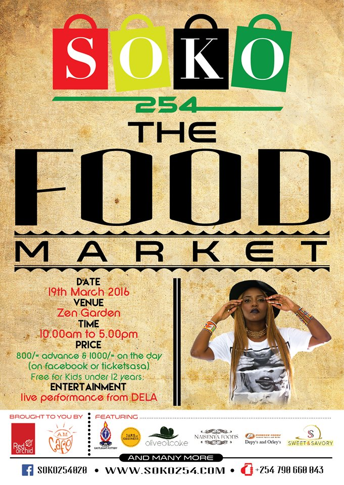 soko254 first pop up food market in kenya in conjunction with top kenyan food blogger Kaluhi Adagala of kaluhiskitchen.com