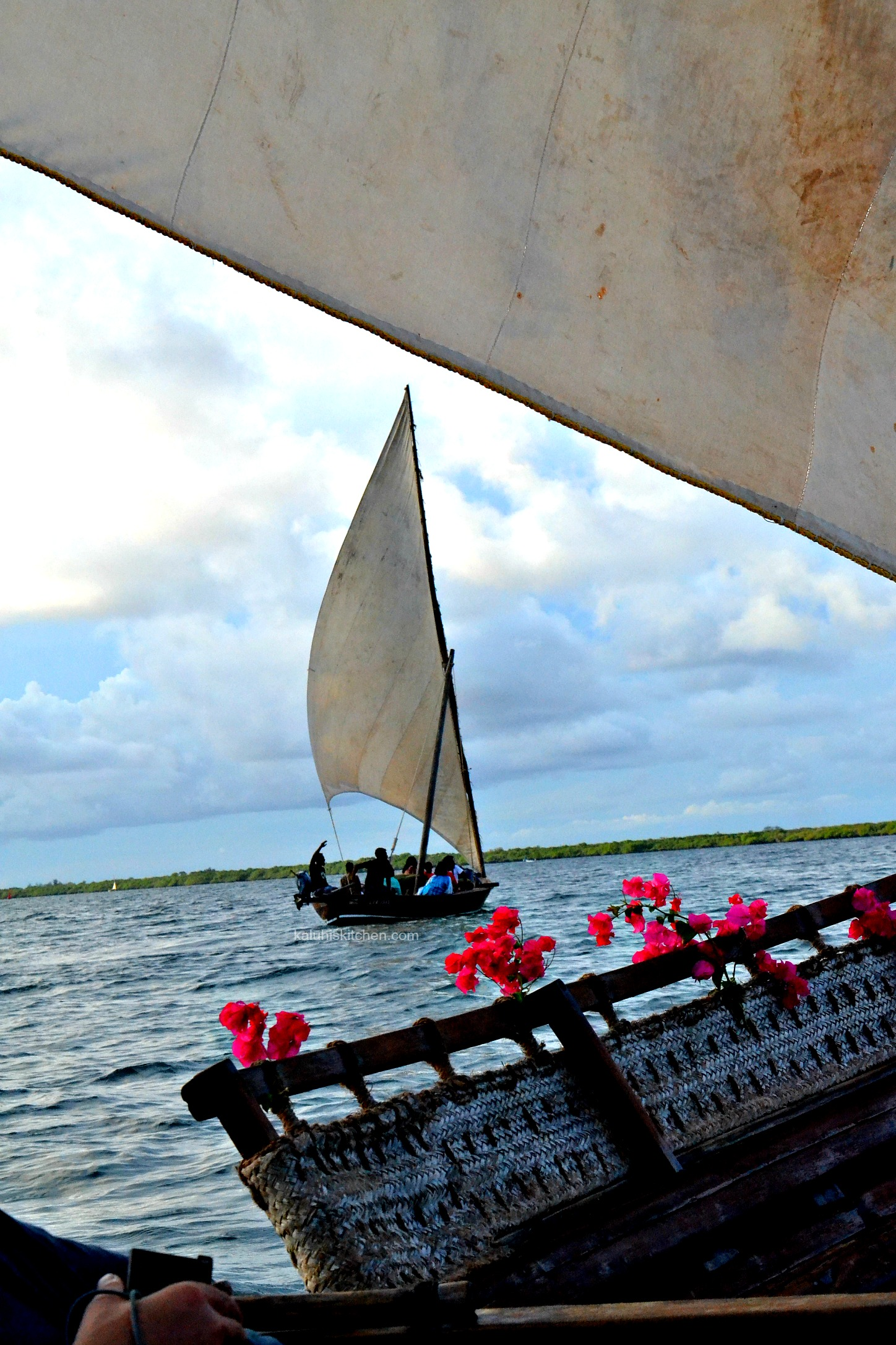 Lamu dhow cruise during the annual Lamu food festival which showcased the various tourist packages for both locals and international tourists