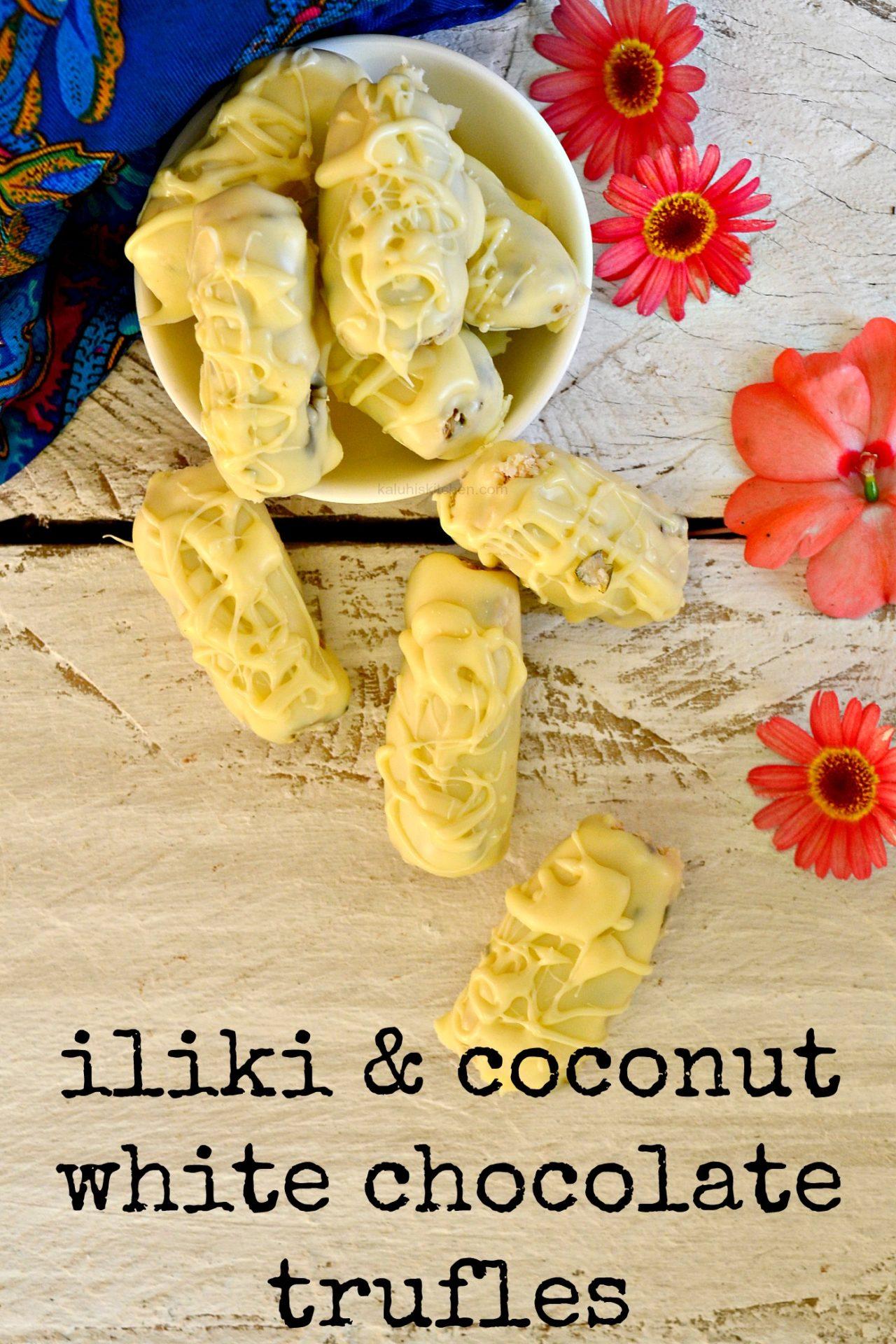 iliki and coconut white chocolate trufles_how to make truffles_white chocolate trufles_kenyan food_best kenyan food blog_best african food blog