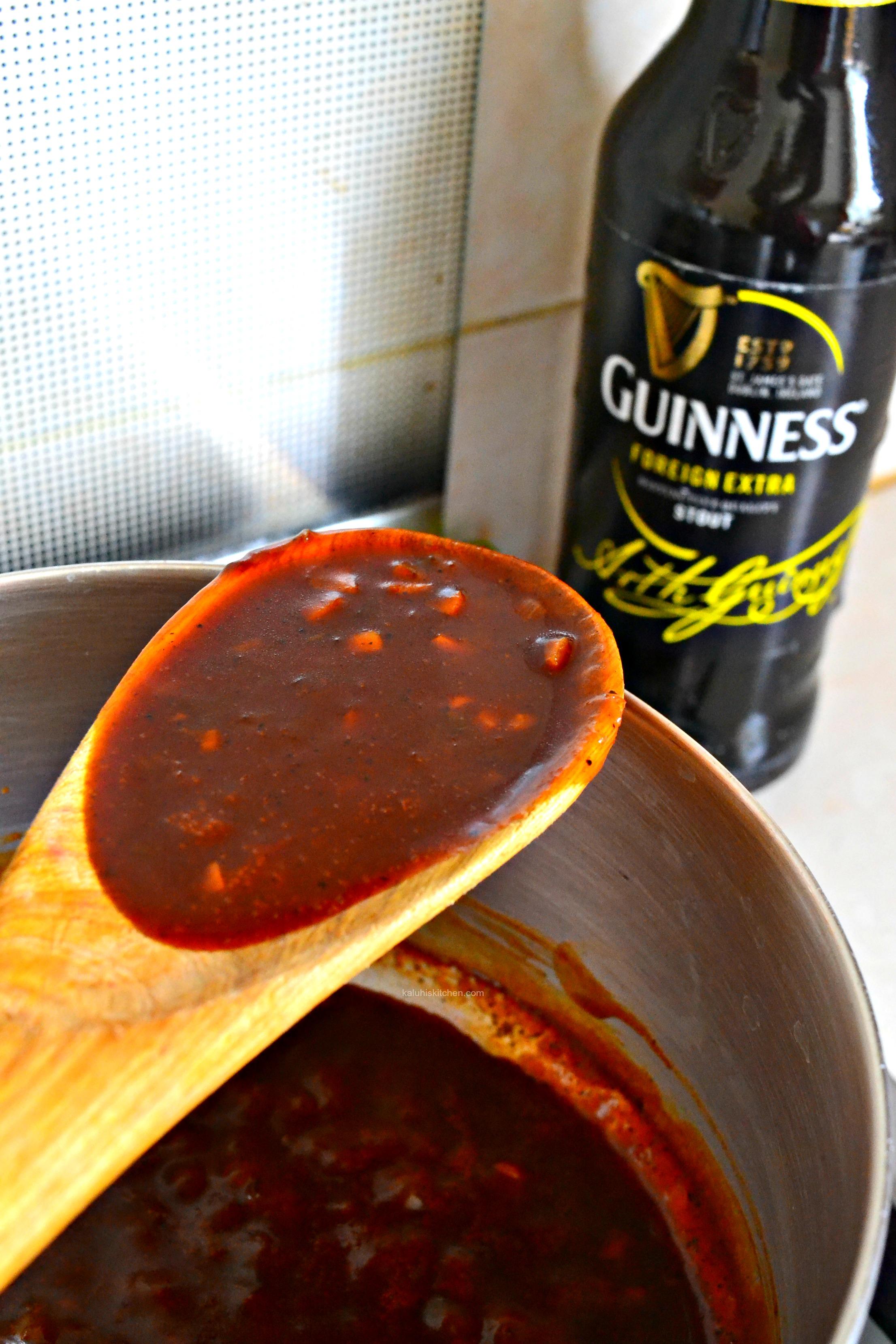how-to-make-a-guinness-sauce_triple-d-drumsticks_easy-chicken-recipes_kaluhiskitchen-com