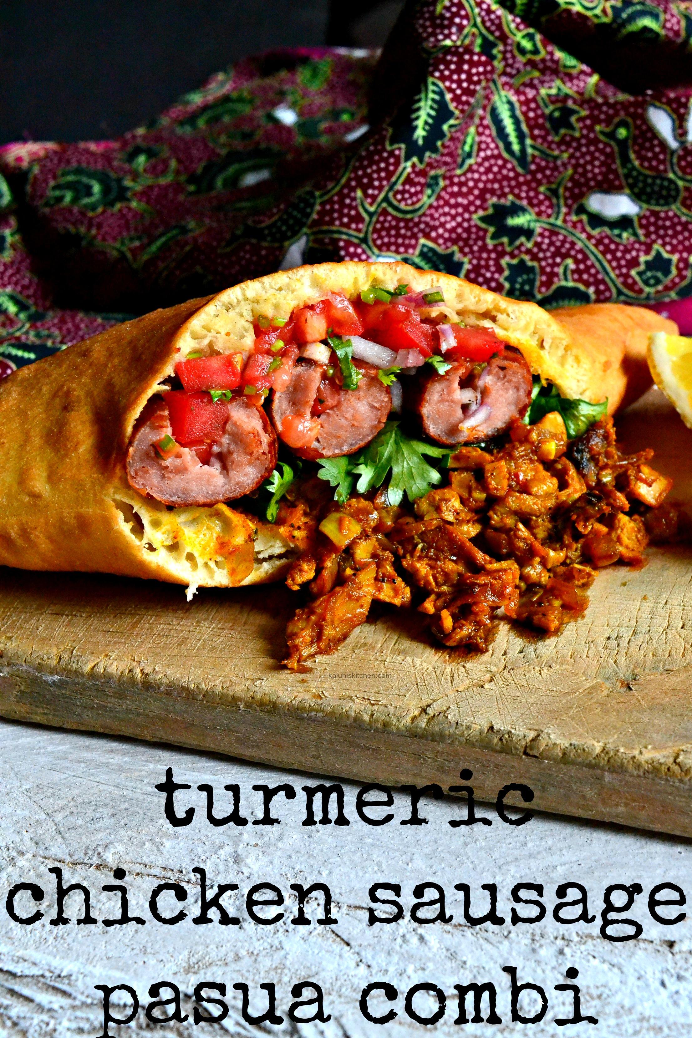 kenyan-street-food_turmeric-chicken-sausage-pasua-combi_how-to-make-sausage-pasua_kenyan-food_kaluhiskitchen-com