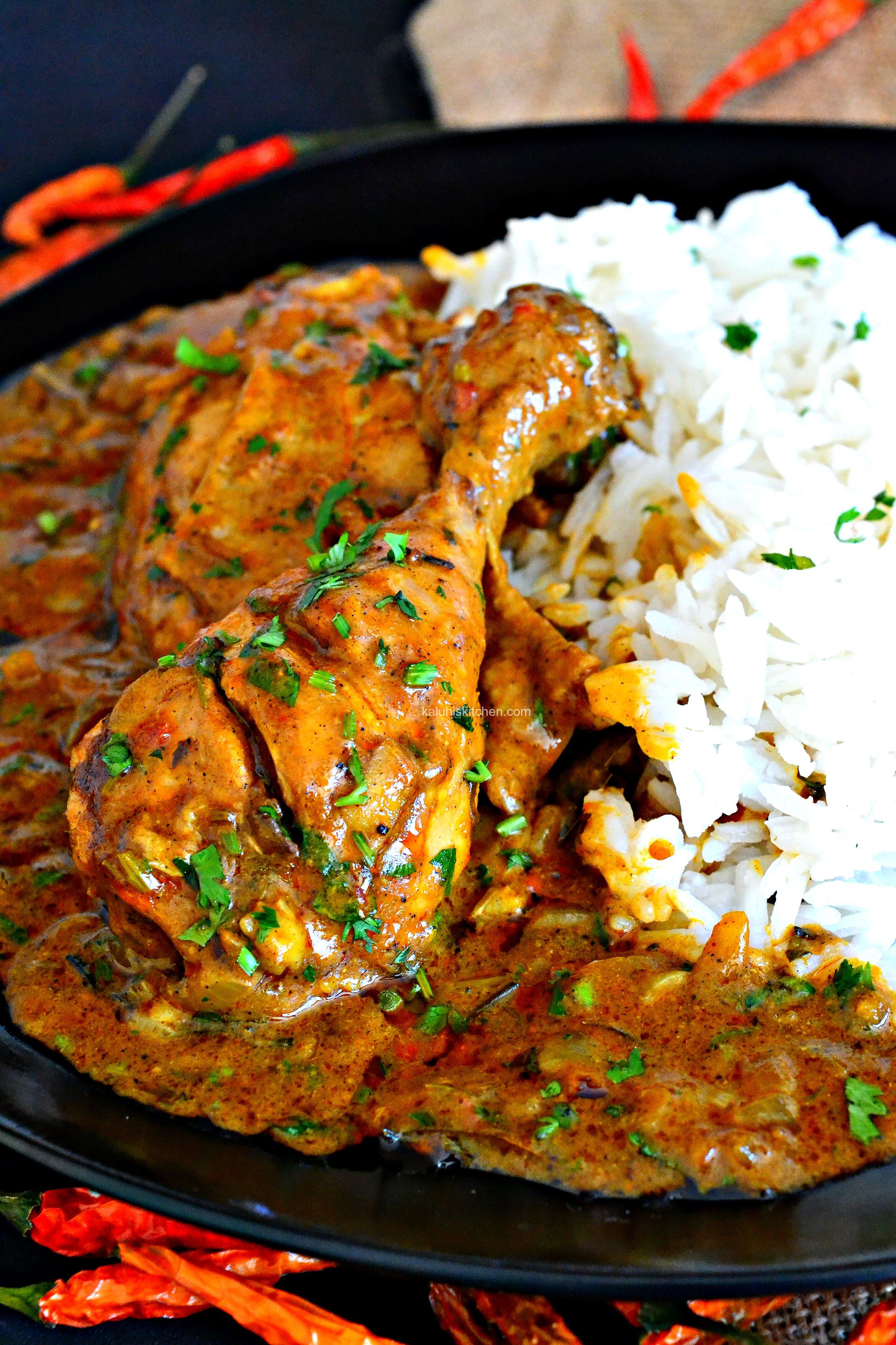 Chicken curry dont you just want to take a bite licks screen then eats device forumfinder Image collections
